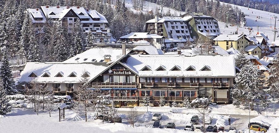 Best Western Hotel Kranjska Gora, Kranjska Gora, Slovenia - exterior in winter.jpg